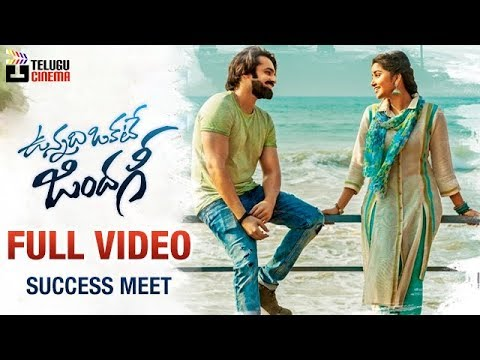 Vunnadhi Okate Zindagi Movie FULL VIDEO | Success Meet | Ram | Anupama | Lavanya Tripathi