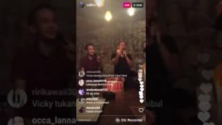 Inijedar- live instagram keluarga artis ada eko patrio dan istrinya juga