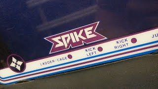 Classic Game Room - SPIKE review for Vectrex