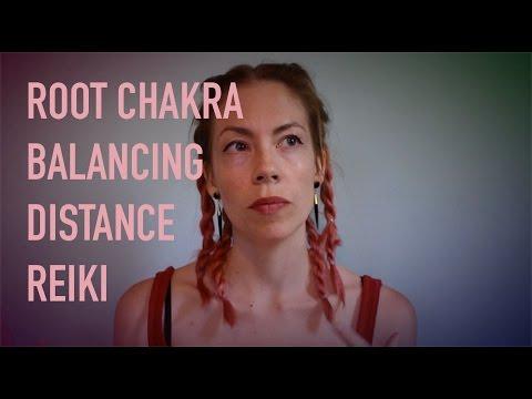 ROOT CHAKRA BALANCING, DISTANCE REIKI, STONES, ASMR