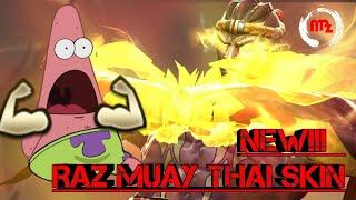 New!! Raz (มวยไทย) Muay Thai Skin - Arena of Valor