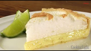 How To Make A Diet Friendly Key Lime Tart | Cooking Light