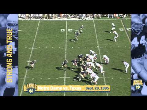 Marc Edwards - Strong and True - 125 Years of Notre Dame Football - Moment #058
