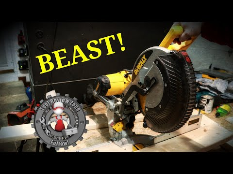 Ryobi 12 Sliding Compound Miter Saw Tss120l Review Youtube