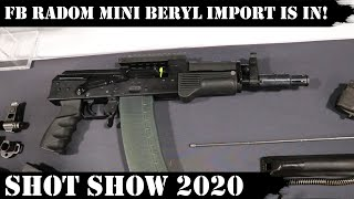 FB Radom Mini Beryl Import is In! WBP Update and Parts Kits situation from Arms of America!