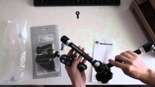Manfrotto Magic Arm 244 unboxing and assembly