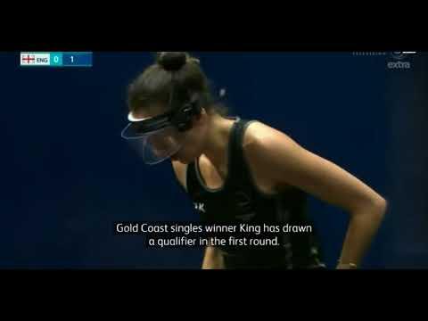 Egypt next stop for Māori squash star Joelle King