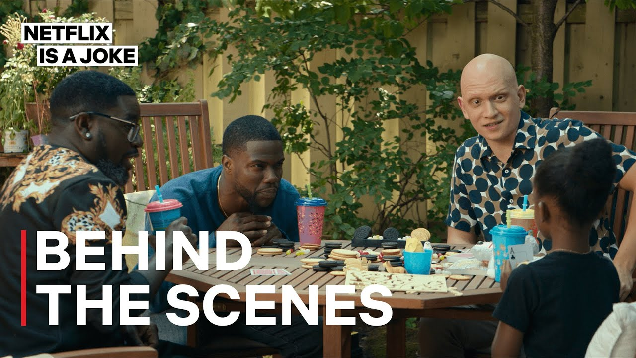 The Bromance Between Kevin Hart, Lil Rel and Anthony Carrigan