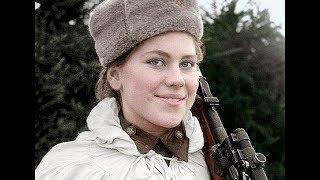 Женщины СНАЙПЕРЫ Второй мировой войны