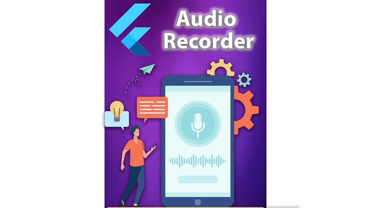 Flutter Preview - Capturing & Playing Audio [2021] Audio Recorder App