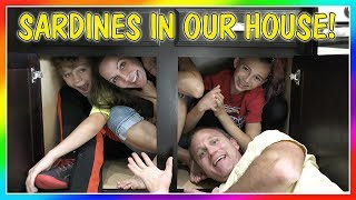 SARDINES IN OUR HOUSE! | HIDE AND SEEK | We Are The Davises by : We Are The Davises