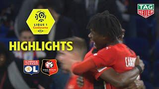 Olympique Lyonnais - Stade Rennais FC ( 0-1 ) - Highlights - (OL - SRFC) / 2019-20