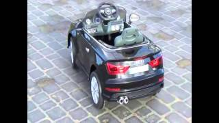 ride on toy car for kids audi a3 battery operated r c 12v 27 mhz