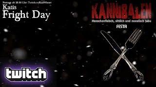 Katis Fright Day: Kannibalen (Buchvorstellung) – Livestream vom 10.08.2018