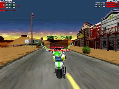 Moto Racer - All Tracks WR Speedrun (1:29:04)