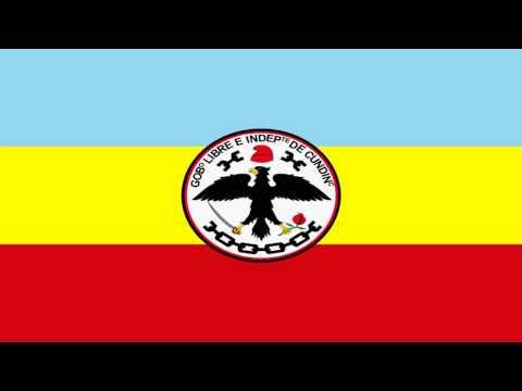 Bandera e Himno de Cundinamarca (Colombia) - Flag and Anthem of Cundinamarca (Colombia)