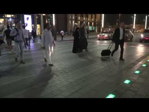 Smart Traffic Signals in Dubai for pedestrians