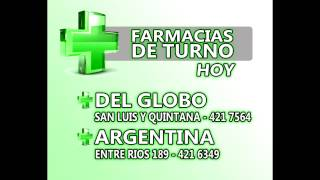Farmacias de Turno Concordia Entre Rios. 2017 Video