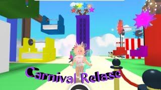 Roblox adopt me Carnival Release 🥳🎟🍿