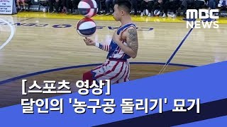 [스포츠 영상] 달인의 '농구공 돌리기' 묘기, 혹시 …