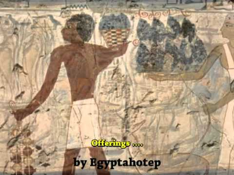 EGYPT 275 - The OFFERINGS - (by Egyptahotep)