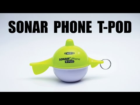 Overview Of The Sonar Phone T-Pod By Vexilar