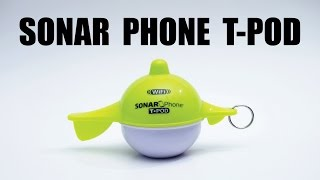 overview of the sonar phone t pod by vexilar