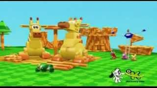 Mecanimais - Ilha da girafa-guindaste