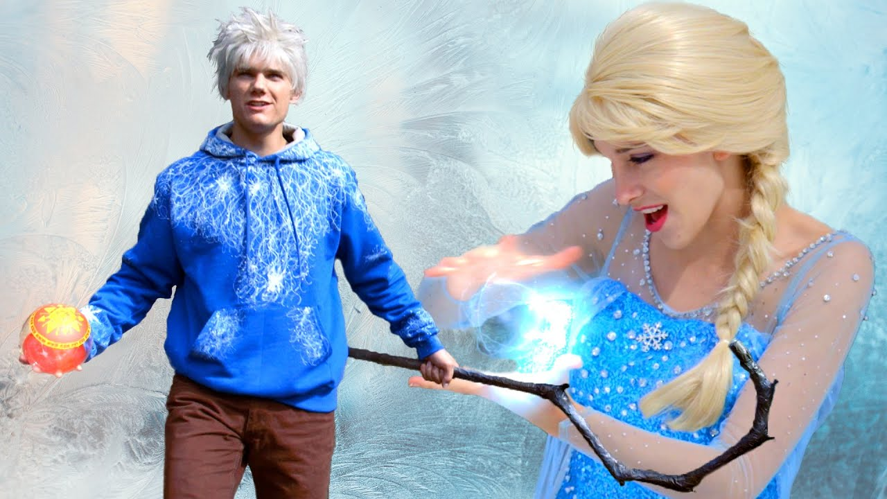 Disney Frozen 2 Elsa And Guardian Jack Frost Find A Way Jelsa