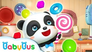 パンダのキャンディーショップ | 子ども・幼児向けお仕事体験アプリ | ごっこ遊び | 赤ちゃんが喜ぶアニメ | 動画