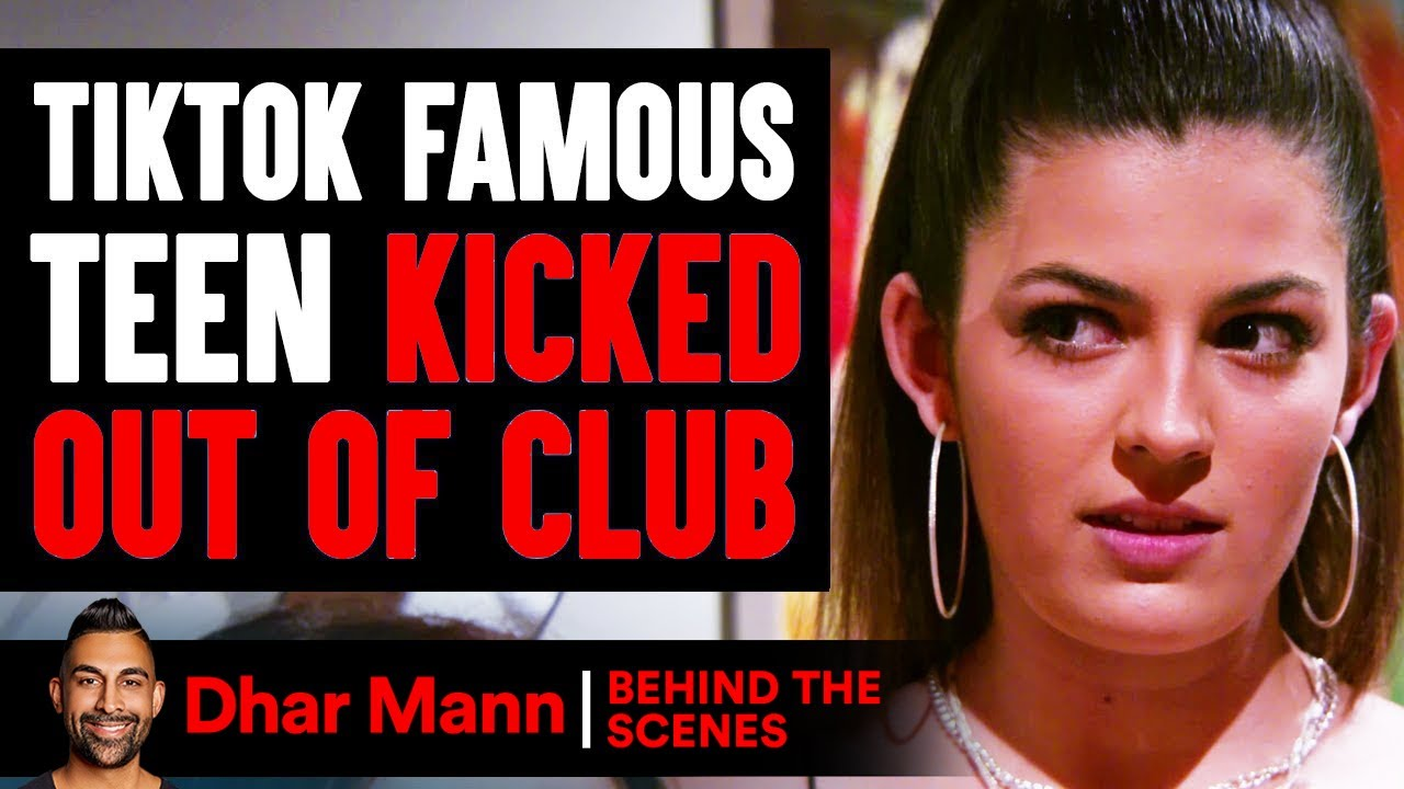 TikTok FAMOUS TEEN Kicked Out Of Club (Behind-The-Scenes) | Dhar Mann Studios
