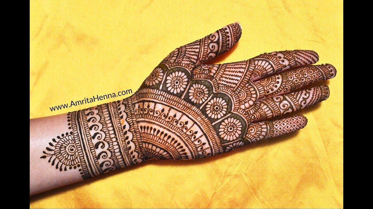 karva chauth mehandi design