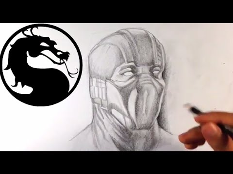 How to Draw Subzero from Mortal Kombat X - Easy Things to Draw
