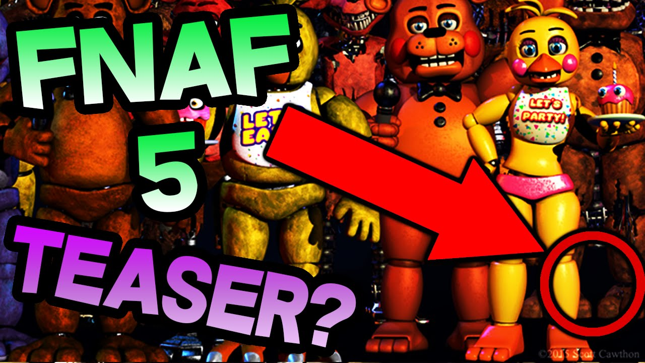Fnaf 5 Teaser Image No Fnaf 5 Confirmed In Final Fnaf