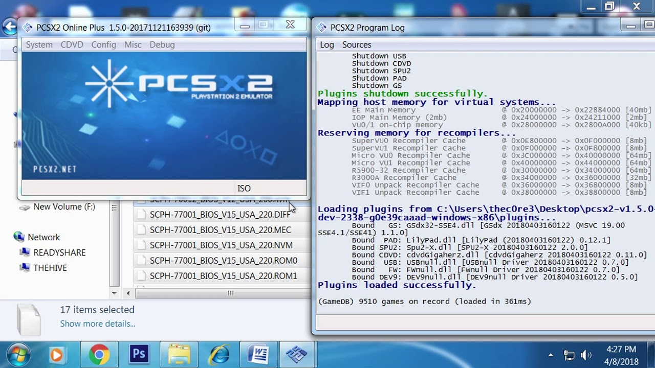 Pcsx2 cant run iso | Help starting ISO for pcsx2 - 2019-03-21