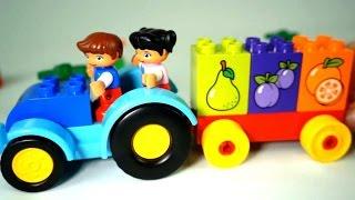 Мультики развивающие - Лего Мультики про фрукты