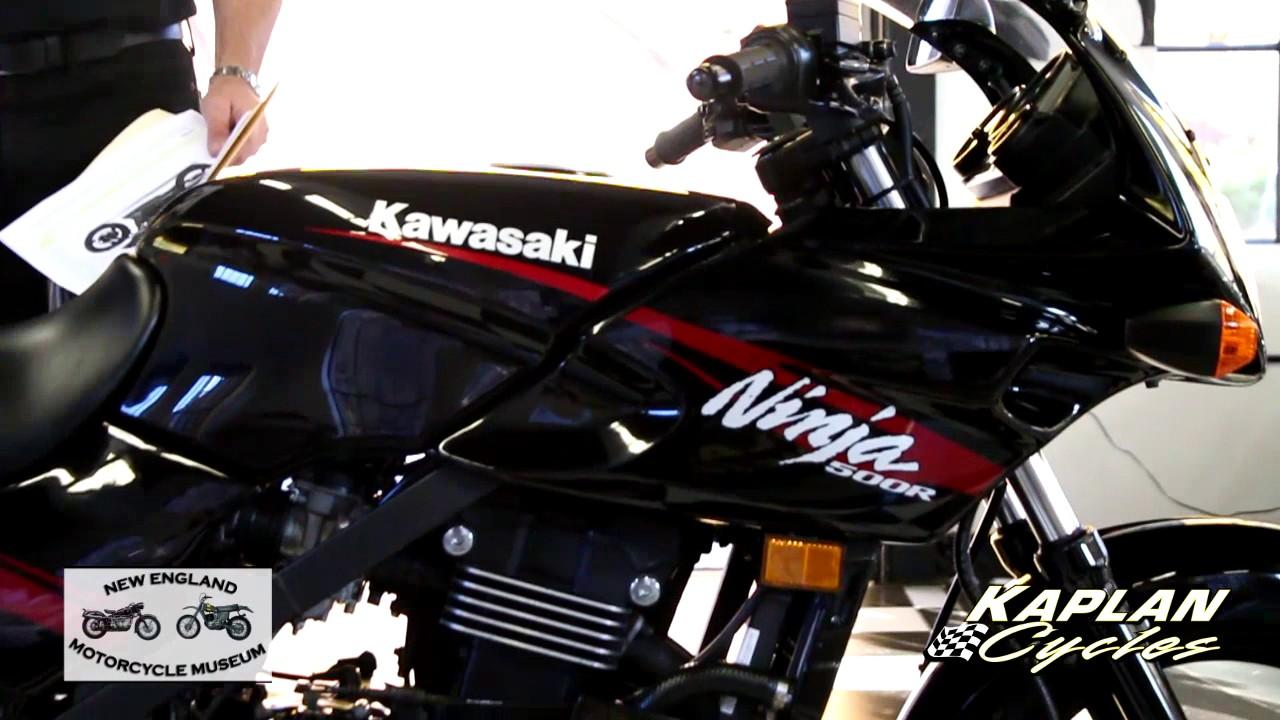 2008 Kawasaki Ninja 500 - YouTube