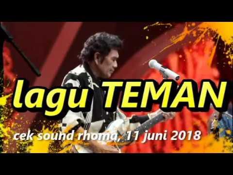 rhoma irama lagu teman 11 Juni 2018