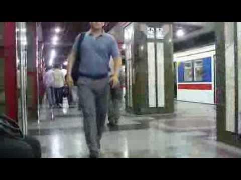 Tehran Metro - Iran People - One minute on metro station