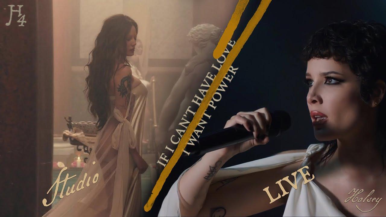 Download Halsey -  I am not a woman, I'm a god (LIVE VS. STUDIO VERSION!!!)