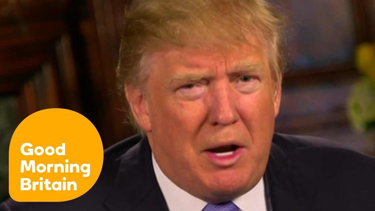 Donald Trump Thinks Britain Will Leave The EU | Good Morning Britain    YouTube