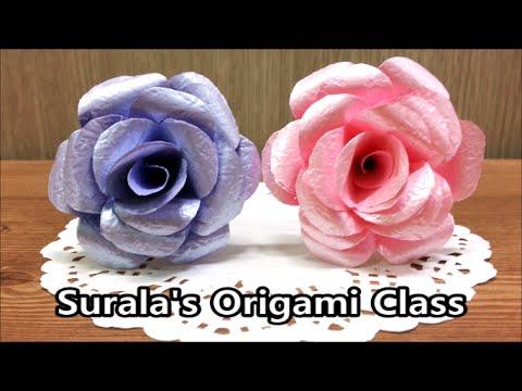Origami - Beautiful Rose / 종이접기 - 아름다운 장�