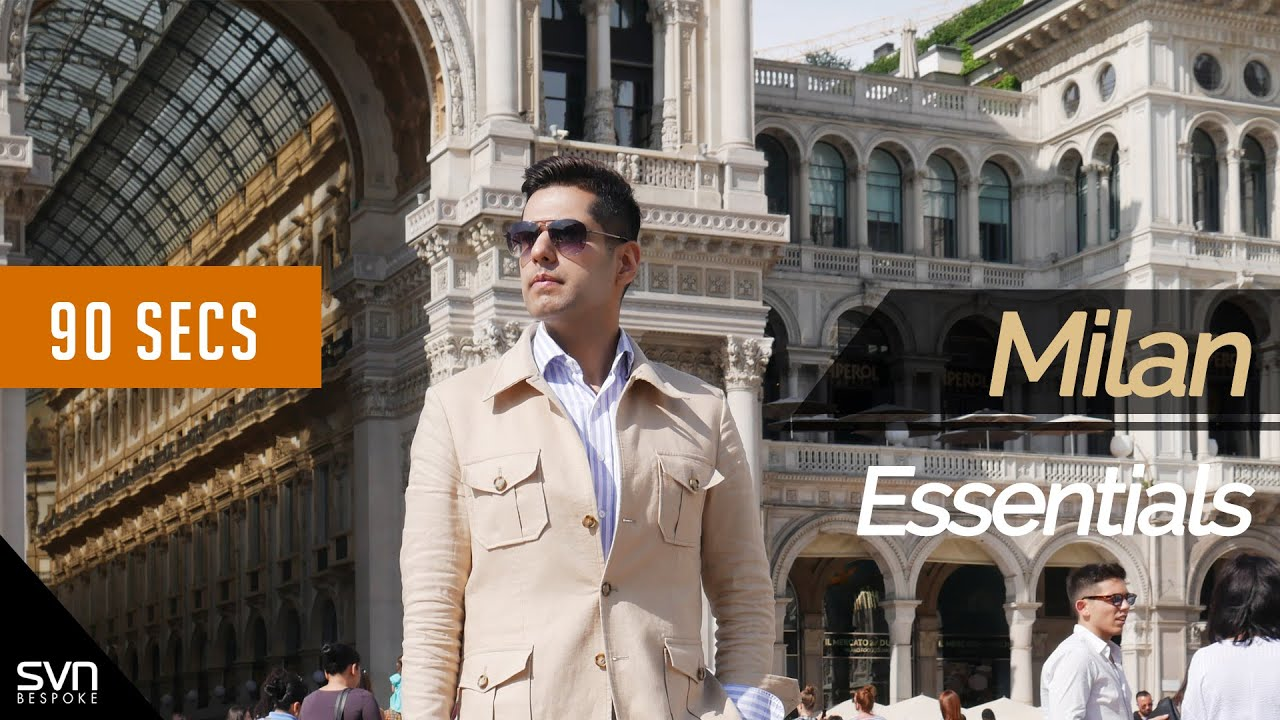 [VIDEO] - 90secs #EP2 Milan Summer Outfit ซาฟารีแจคเก็ตสไตล์ซัมเมอร์มิลาน 1