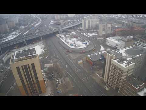 Москва - Нижегородская улица - веб камера 16.02.2020, 06:56