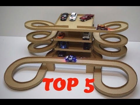 TOP 5 AWESOME CRAFTS made with cardboard