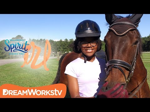 How to be Confident On and Off Your Horse ft. MyFroggyStuff | SPIRIT RIDING FREE IRL