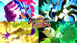 Dragon Ball FighterZ - All Super & Ultimate Attacks [w/ DLC Packs 1-4]