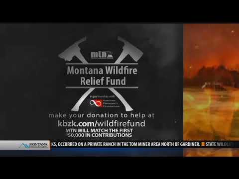 Montana Wildfire Relief Fund: How You Can Help