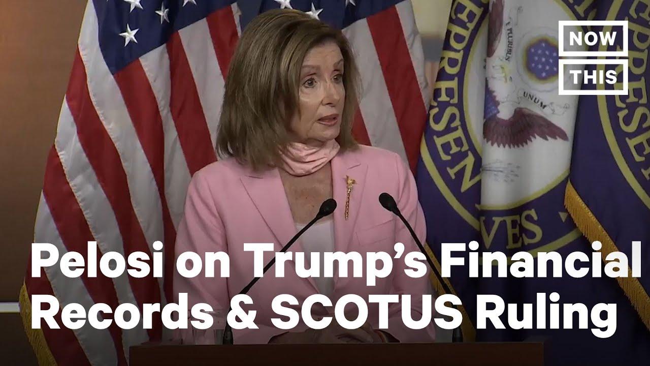 Download Pelosi on Trump Financial Records SCOTUS Decision | NowThis