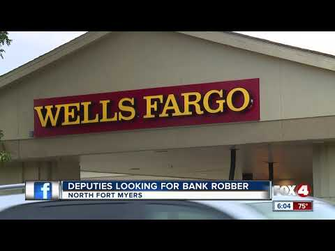 Robbery suspect at large in N. Fort Myers